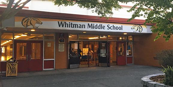Whitman Entry